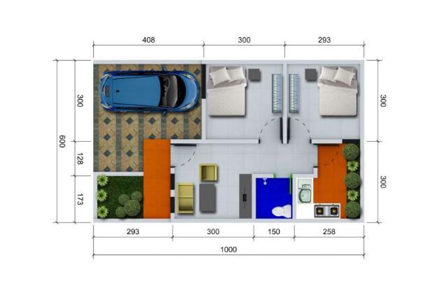 Miliki Rumah Dapatkan Bonus Canopy di Daerah Kalimulya Depok 17341344