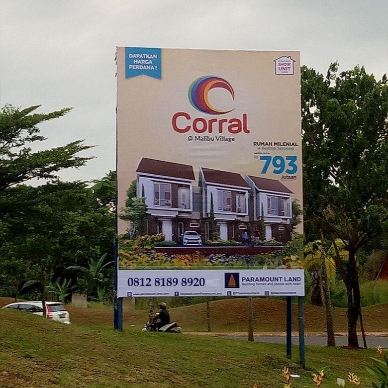 PROMO HARGA PERDANA Rumah MILENIAL CORRAL di Gading Serpong