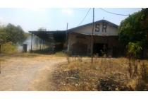 HITUNG TANAH.. Tanah + bangunan bekas industry di ds Kemlagi Mojokerto