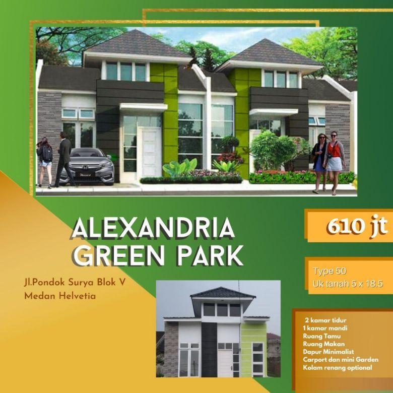 Dijual Rumah Alexandria Green Park