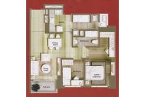 Apartemen Central Park Residence, 2BR + Siap Huni