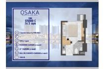 Apartemen Osaka Riverview PIK2 Terlengkap dan Megah MD685