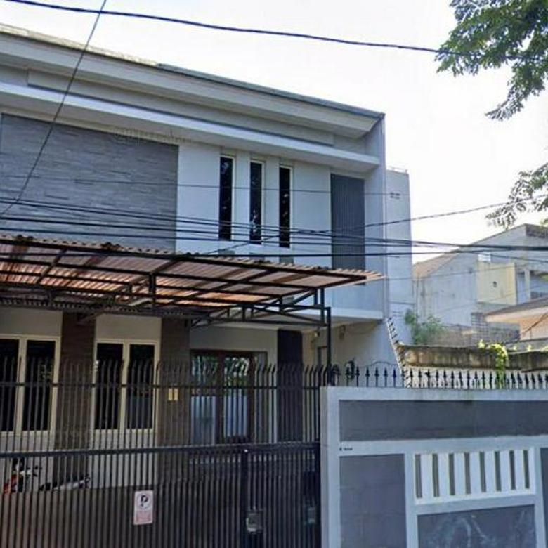 CHANDRA*rumah semi furnish uk 8.5x25m lokasi bagus kavling polri