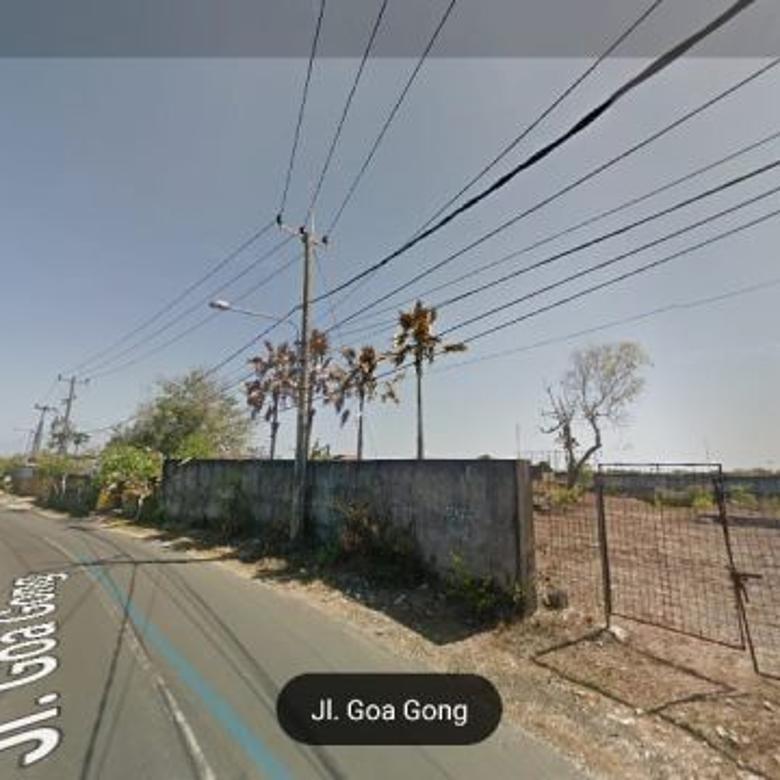 Tanah Di Jalan Utama Goa Gong, Jimbaran - Kuta Selatan, Bali