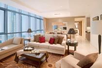 For RENT 2BR serviced apartment OAKWOOD Premier Cozmo JAKARTA