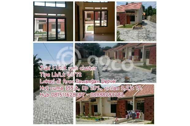 Rumah Siap Huni DP 10 juta cicilan 3 juta di Arco Sawangan 5454633