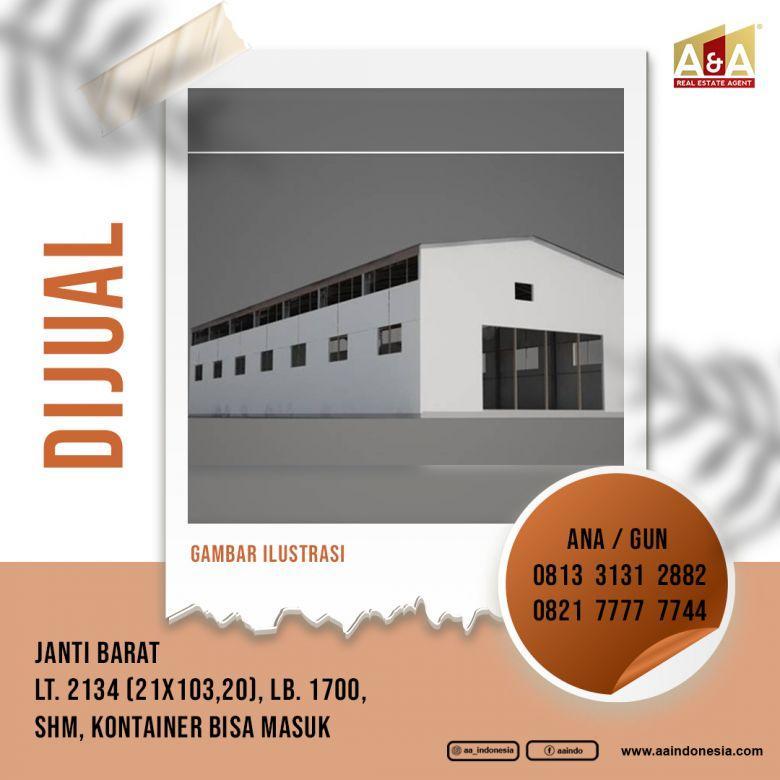 GUDANG STRATEGIS JALAN JANTI BARAT, MALANG