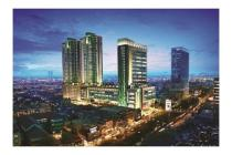 Green Central City Tower Adenium tipe 1 BR Siap Huni