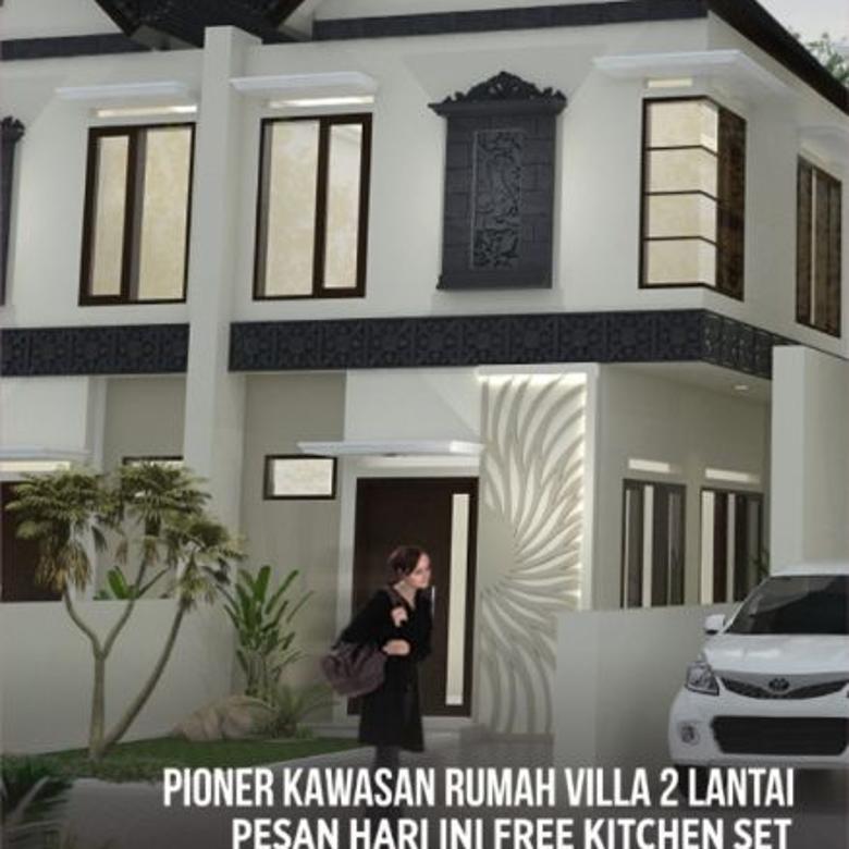 Rumah Minimalis 2 Lantai 100 Jutaan  pre launching rumah villa murah 2 lantai 100 jutaan singosari