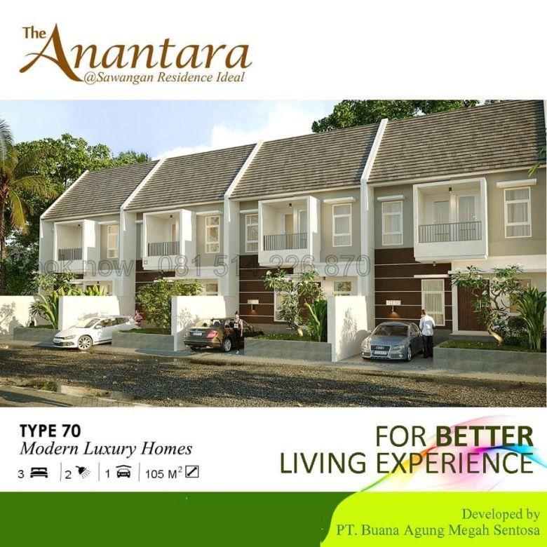 The Anantara Sawangan Depok rumah murah 2 lantai