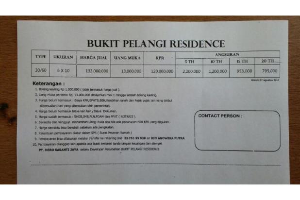 Rumah Subsidi Barat Surabaya 13799678