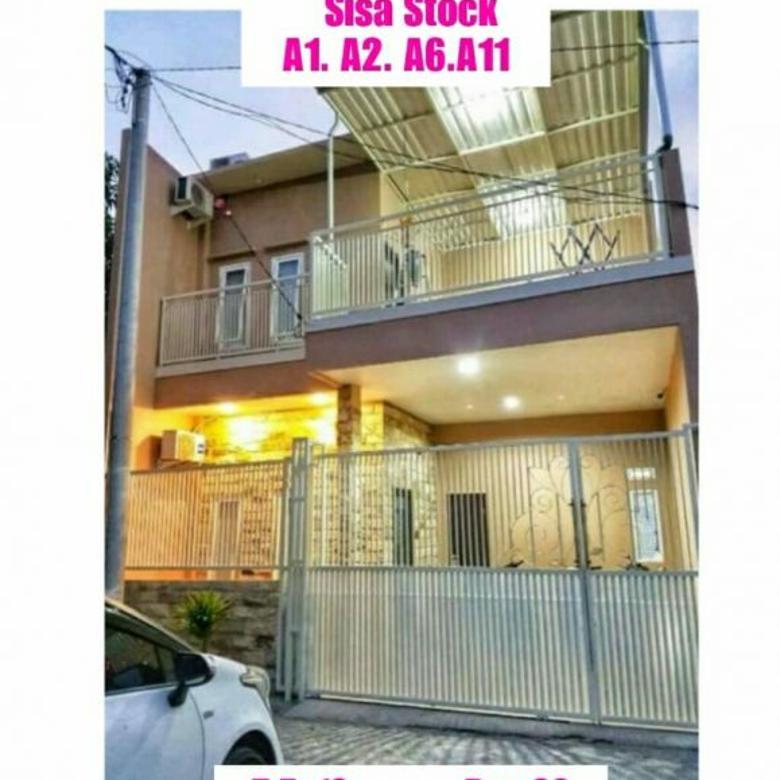 rumah murah manukan indah residence lontar surabaya dp cicil