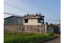Tanah dan bangunan (Gudang/Pabrik) dijual di Jalan Pasirkaliki, Cianjur
