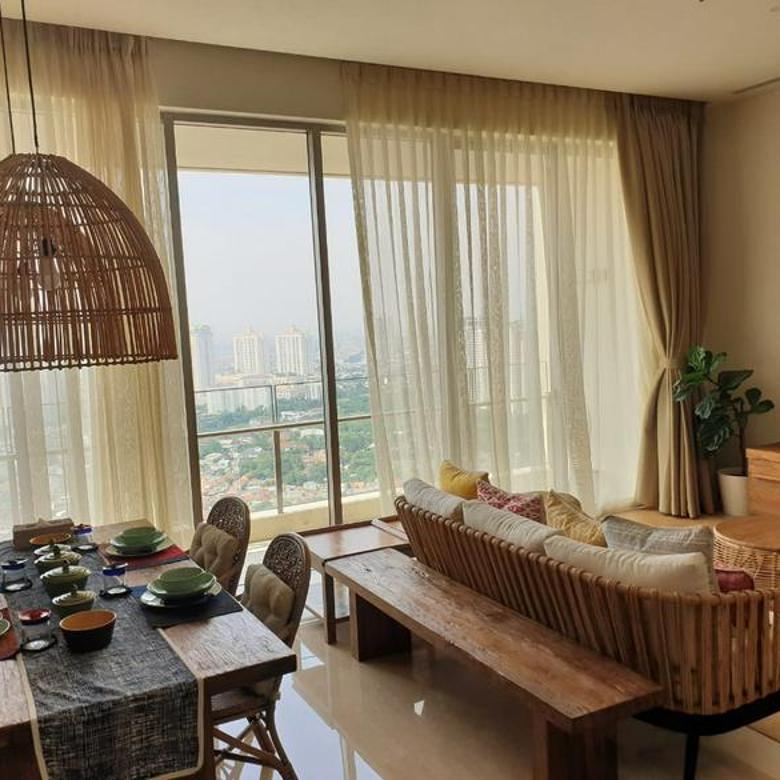 Apartment Pakubuwono Spring 2br 148sqm Full Furnished New at Keb Lama, Jakarta Selatan