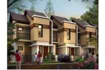 Rumah 2 lt, strategis, dekat stasiun, minimalis, nuansa Bali, di Bogor