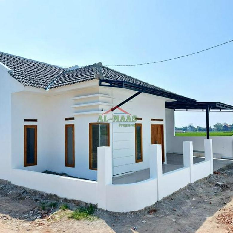 Rumah asri indent free design dan siap huni