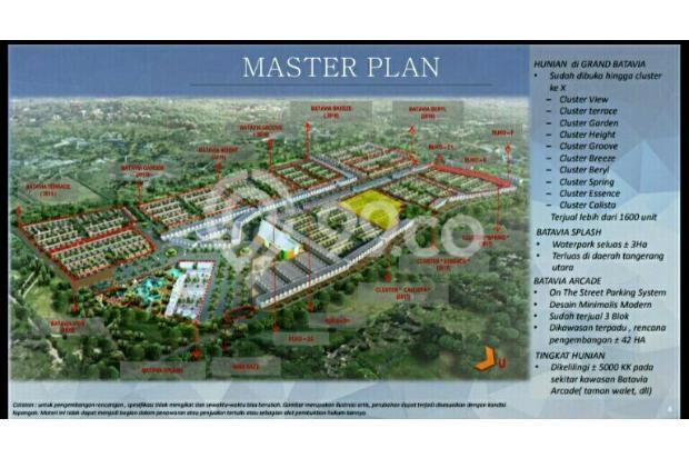 Grand Batavia cluster 2Lantai Dp dicicil cadas kukun Tangerang 15423298