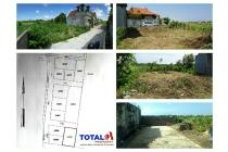 Dijual Tanah 450jt/are di daerah Pedungan, Denpasar Selatan