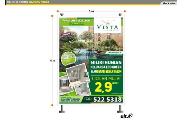 apartment asri dan nyaman GARDEN VISTA residence berkosep eco green 7608712