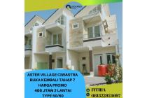 BOOMING! Rumah syariah 2 LT 400 JTan Ciwastra kota Bandung