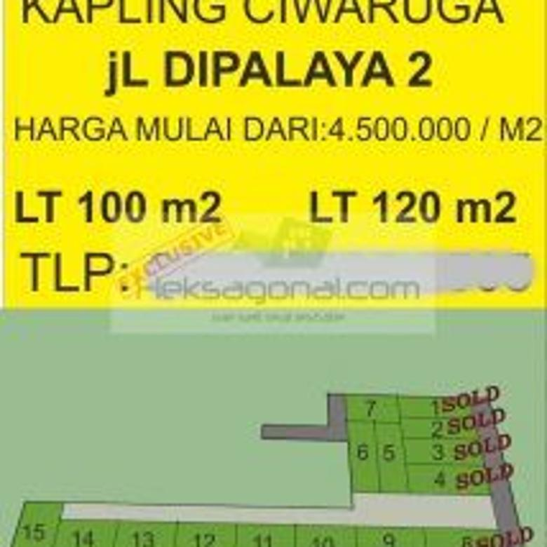 Tanah dijual Ciwaruga Bandung hks10655