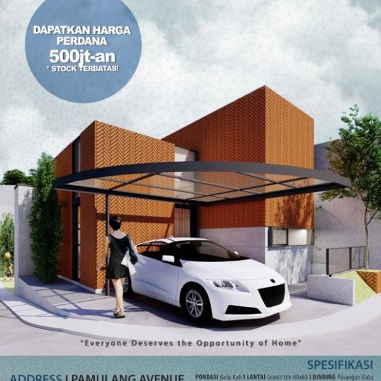 Cluster Pamulang Avenue, Rumah Tangsel  Dengan DP : 5%