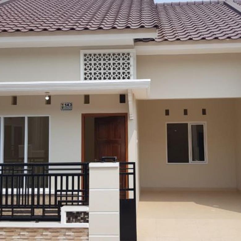 Rumah cluster siap huni dalam perumahan pemda jatiasih Bekasi