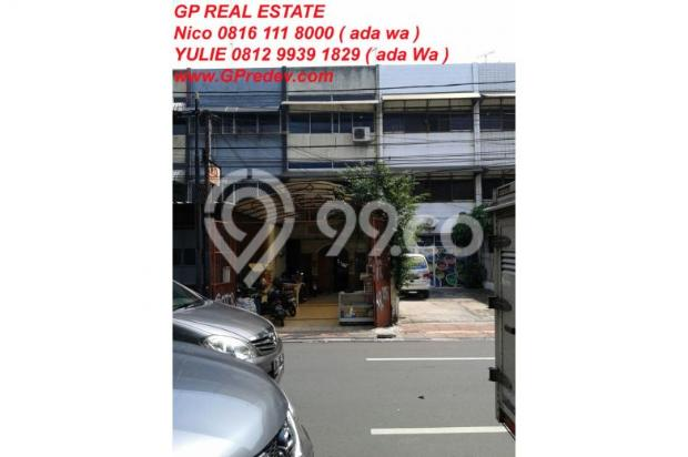 Dijual Ruko Cideng Barat Lb.440m2 MURAH HGB 2025 7317674