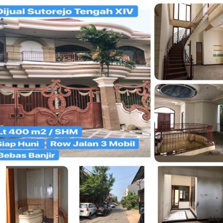 528. DIJUAL RUMAH MURAH DI Sutorejo Tengah XIV Surabaya Timur