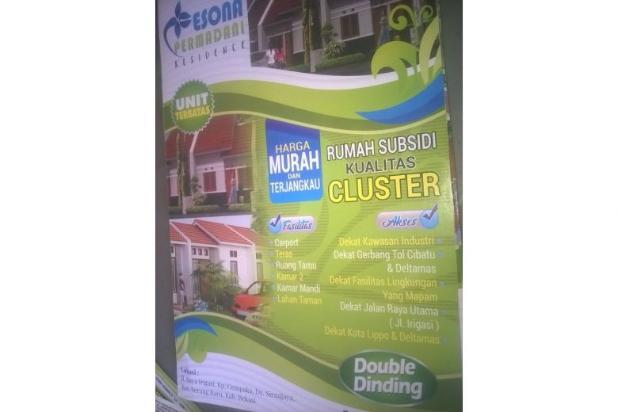 Dijual Rumah Murah Strategis di Pesona Permadani Residence, Bekasi 12397366