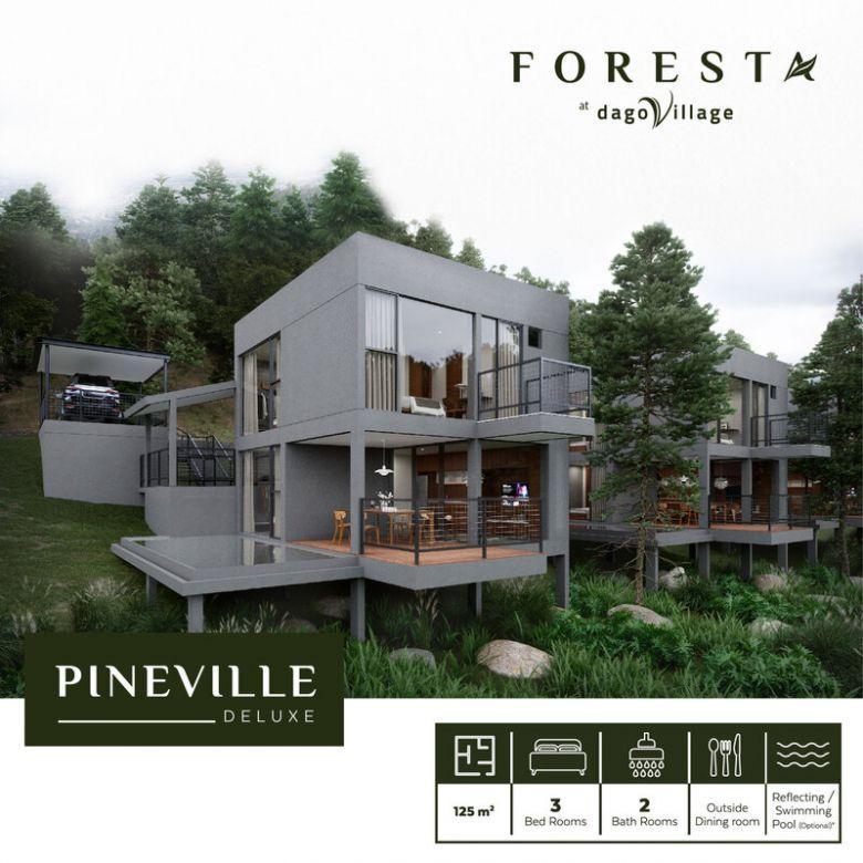 Dijual Villa Kawasan Asri di Dago Village Bandung