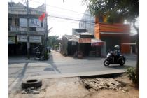 Tanah dan Bangunan lokasi sangat strategis di jalan Raya Meruyung  Limo