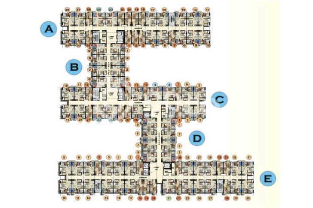Apartement 2 BR Fully Furrnished Lengkap,Nyama,Fasilitas Lengkap Free Wifi 15790382