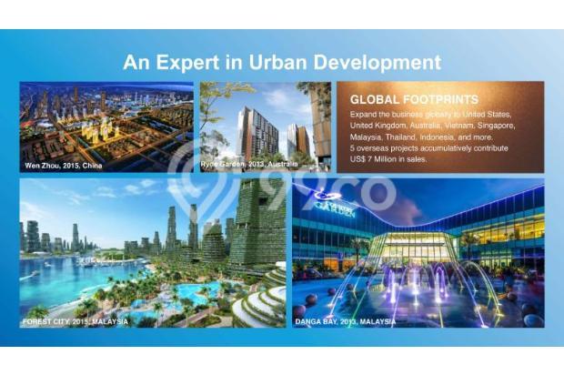 Miliki Apartemen eksklusif berkonsep Singapore Living RP.500 JUTAAN 14317365