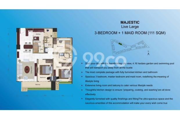 Miliki Apartemen eksklusif berkonsep Singapore Living RP.500 JUTAAN 14317369