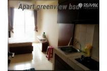 Apartemen Type Studio Serpong Greenview , BSD , Tangerang