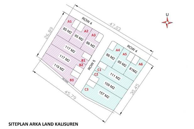 Cash Tempo 12 X Non Bunga, Arka Land Kalisuren 17149914