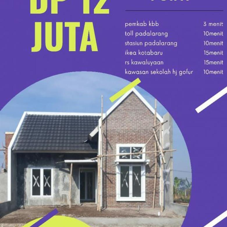Rumah murah promo DP 12 juta di Cimahi Padalarang Bandung
