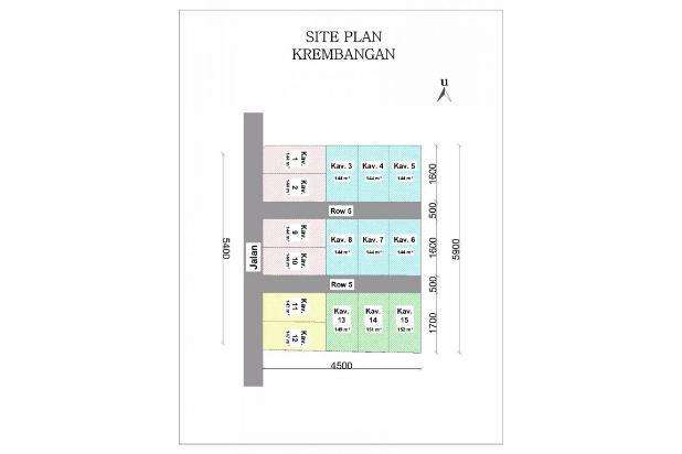 Beli Rumah KPR TANPA DP di Kulonprogo, Pilih Green Krembangan 14417746