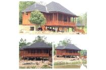 rumah kayu modern knock down