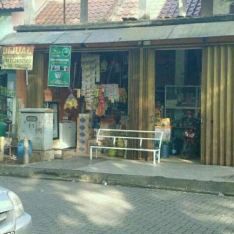 RUMAH + TOKO DIJUAL/ DI KONTRAKAN Strategis di jln Utama komp
