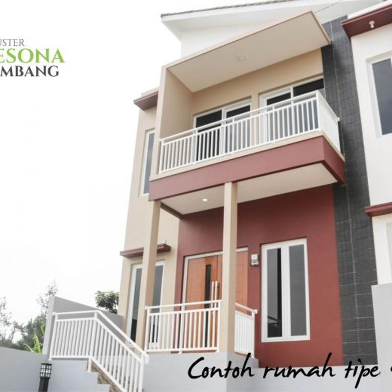 Rumah minimalis modern di Lembang Bandung 2 lantai 50 menit ke dago