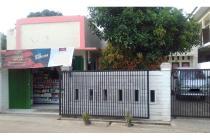 Dijual rumah beserta toko kelontong di Graha Bintaro