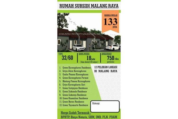 Rumah Murah Hunian Enak 16049100