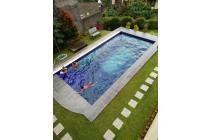 villa bagus n besar di cisarua ada kolam renang puncak cisarua