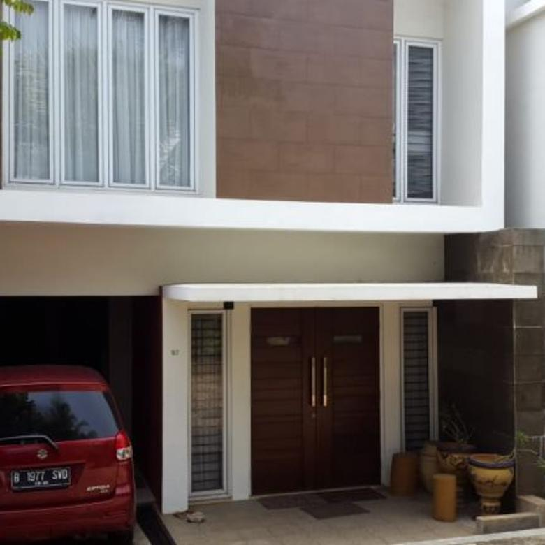 rumah PINGGIR JALAN & MURAH di jl wijaya 1 kebayoran jaksel