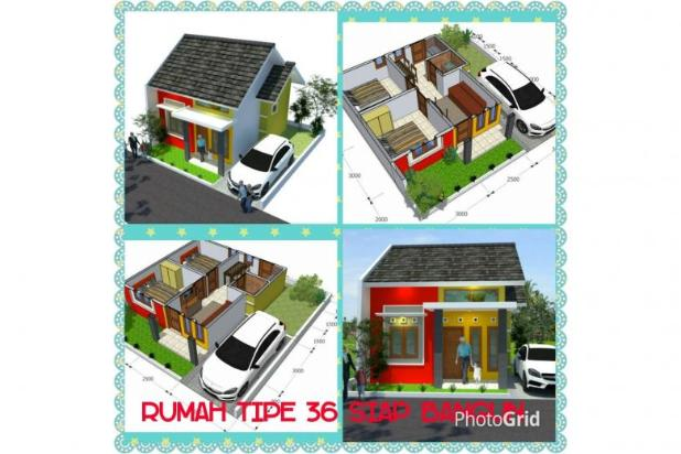 Rumah murah siap bangun dijetak sindangtirto 12398696