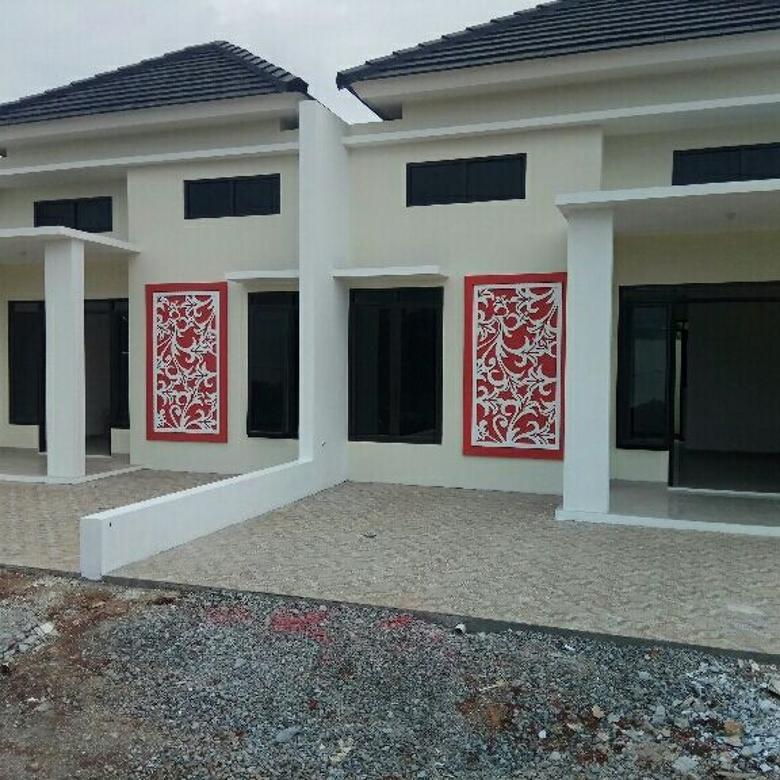 Rumah cluster akses Grand Depok City 15 menit stasiun Depok