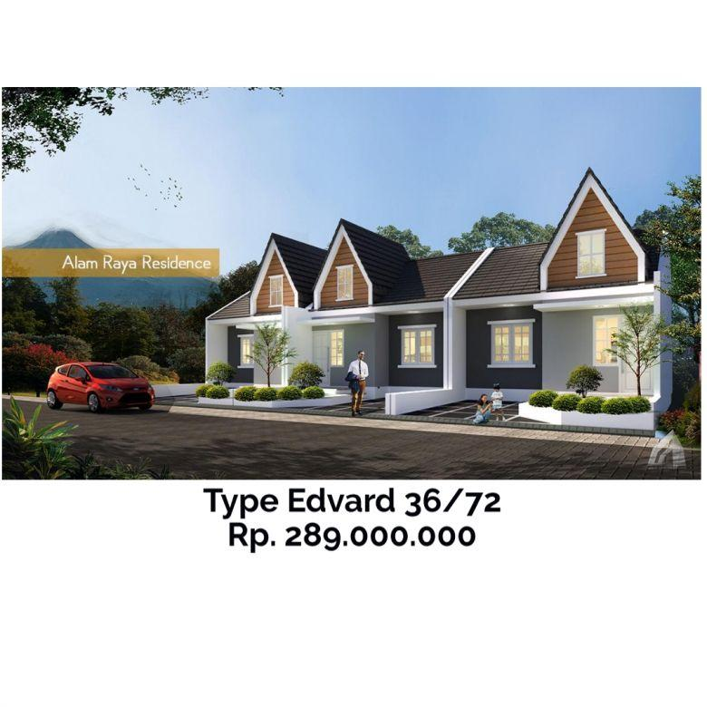 Dijual Rumah Modern Aman di Alam Raya Residence, Malang