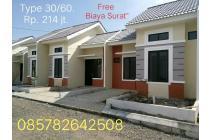 Rumah Mantab  Murah berkualitas, Strategis di jalan raya Ciseeng